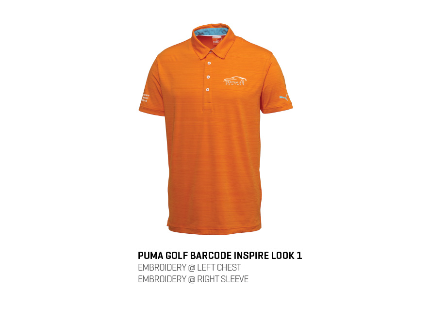 9ab7d958583c Welcome the fun side of sports with the Puma Barcode Polo. The tonal stripe  detail is cool and trendy. This polo features dryCELL designation for ...