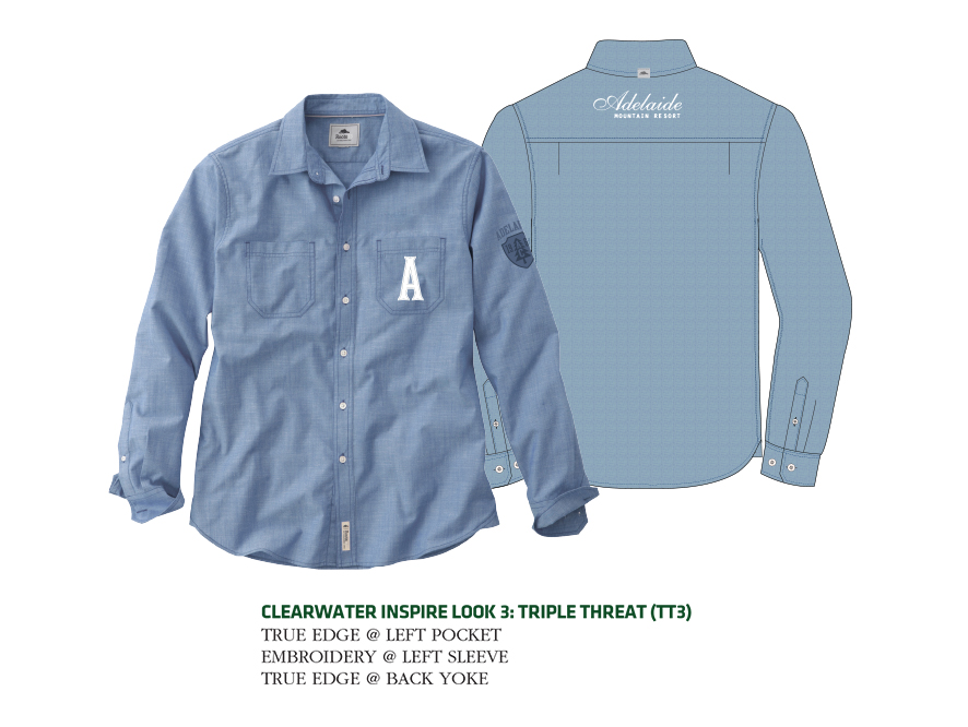 W Clearwater Roots73 Ls Shi Trimark Sportswear Group