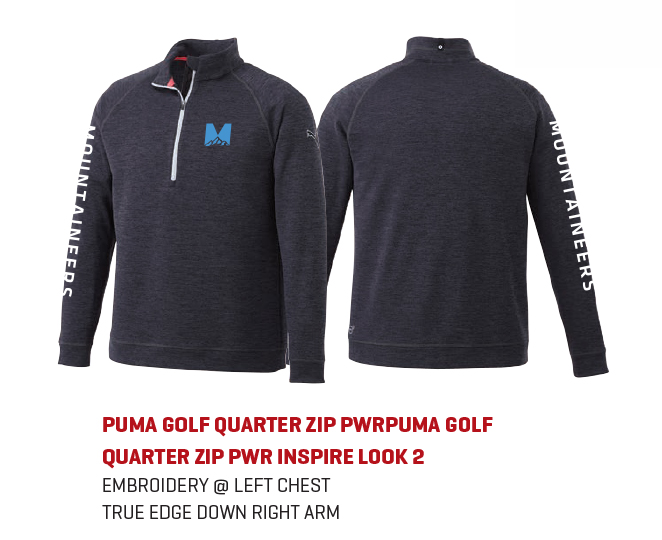 The PUMA Golf Quarter Zip PWR popover for men s and hoodie for women s is a  classic look that will never go out of style. The trendy black heather ... a2e3b5de49