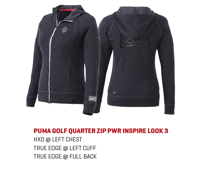 The PUMA Golf Quarter Zip PWR popover for men s and hoodie for women s is a  classic look that will never go out of style. The trendy black heather ... 5dde984725