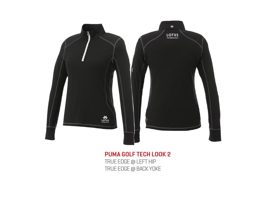 76a468578474 M) PUMA Golf Tech 1 4 Zip Top Trimark Sportswear Group