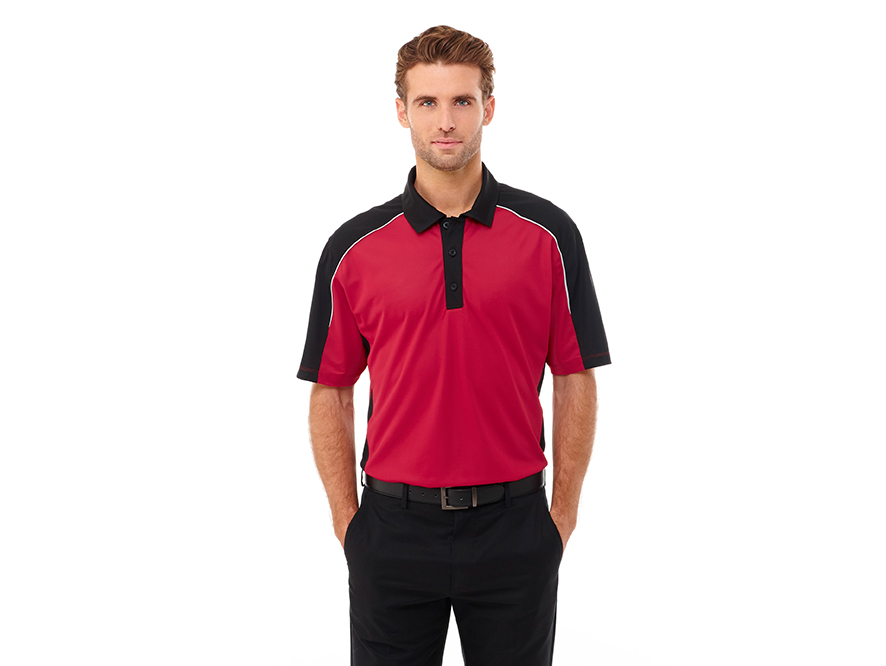 6d0e0c6a7 Any player or team can take their style game to the next level in the Martis  Short Sleeve Polo. Constructed of 100% micro polyester with a wicking  finish ...