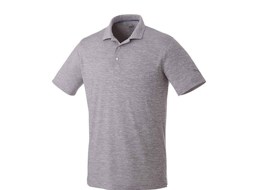82820797b M) PUMA Heather Polo Trimark Sportswear Group
