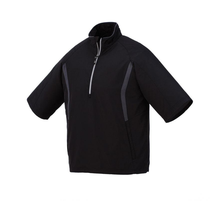 M) POWELL SS H/zip windshirt Trimark Sportswear Group