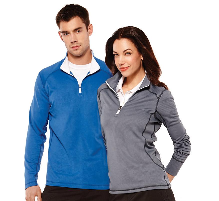 981e23a43620 (M) PUMA Golf Tech 1 4 Zip Top Trimark Sportswear Group